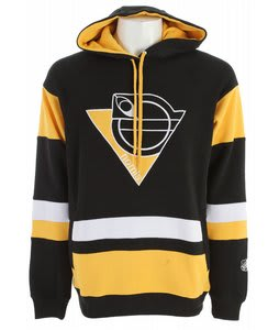 Nomis NHL3 Hoodie Penguins Black