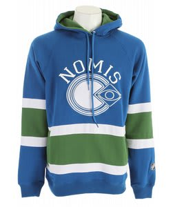 Nomis NHL3 Hoodie Canucks Blue