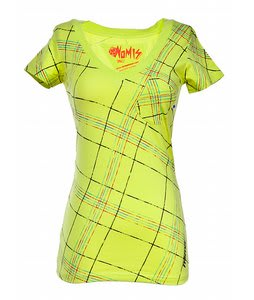 Nomis OG V-Neck T-Shirt Sunny Lime