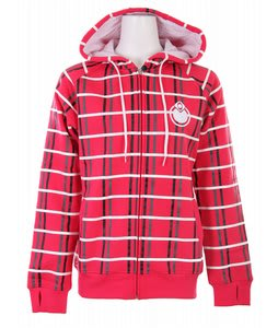 Nomis OG Plaid Hoodie Rah Red