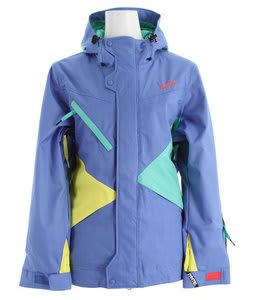 Nomis Pimpstress Insulated Snowboard Jacket Blue Raz