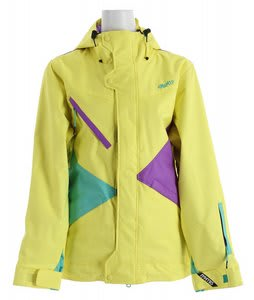 Nomis Pimpstress Insulated Snowboard Jacket Chartreuse