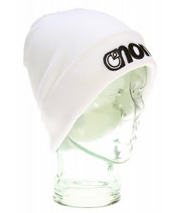 Nomis Plain Beanie White