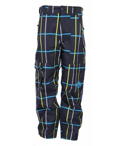 Nomis Simon Signature Snowboard Pants Black Plaid