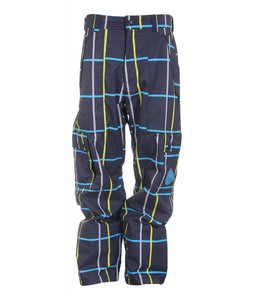 Nomis Simon Signature Shell Snowboard Pants Black Plaid
