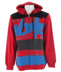 Nomis Tony Hoodie Crimson Tiger Storm Print