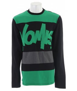 Nomis Tony L/S T-Shirt Black/Green