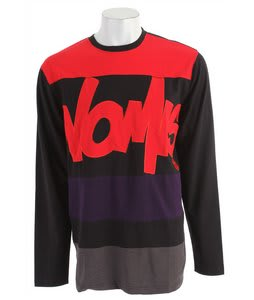 Nomis Tony L/S T-Shirt Black/Red
