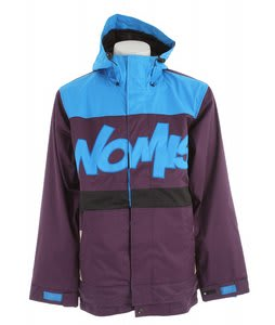 Nomis Tony Shell Snowboard Jacket Dark Purps