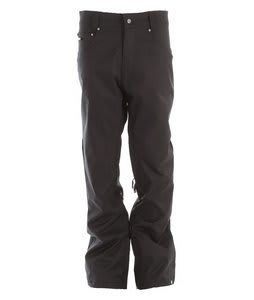 Nomis True Slim Shell Snowboard Pants Black