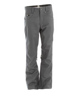 Nomis True Slim Shell Snowboard Pants Dark Slate
