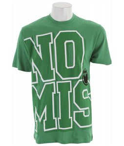 Nomis Varsity Appeal T-Shirt Bright Green