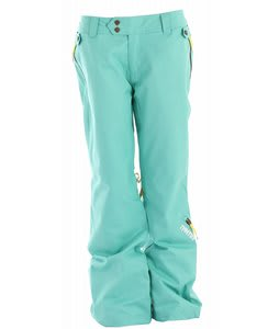 Nomis Zoey Insulated Snowboard Pants Mint Julip