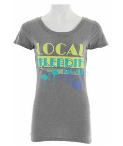 Nomis Local Celeb T-Shirt Heather Graphite