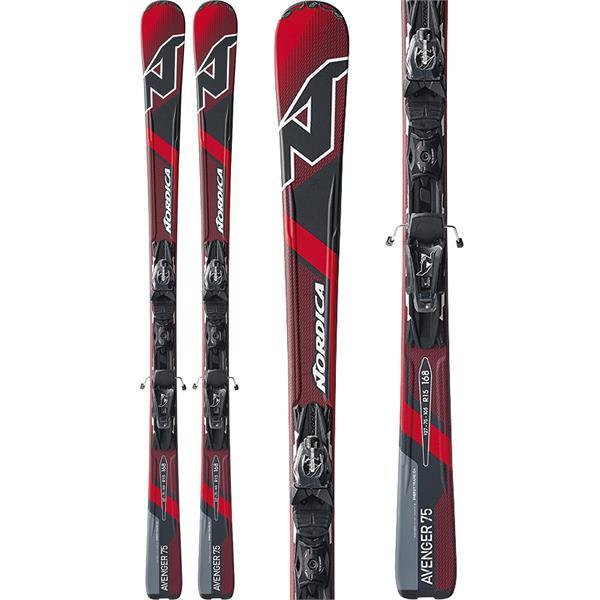 Nordica Avenger 75 Ca Evo Mens Skis w/ N Adv P.R. Evo Bindings