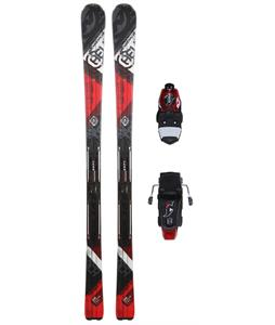 Nordica Avenger 75 Skis w/ Adv P.R. Evo Bindings Red/Black