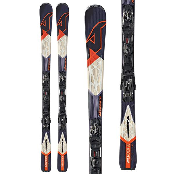 Nordica Avenger 78 Ca Evo Skis Black w/ N Adv P.R. Evo Bindings