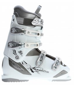 Nordica Cruise 55 Ski Boots Titanium/White