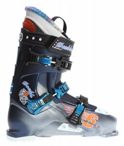 Nordica Double Six Ski Boots Steel/Dark Blue