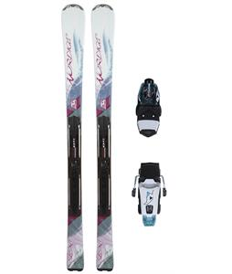 Nordica Elexa Skis w/ Adv P.R Evo Bindings