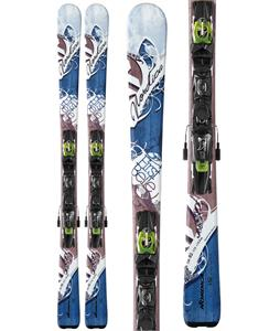 Nordica First Belle Evo Skis w/ ADV P.R. WB90 Bindings