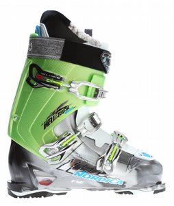 Nordica Hell & Back Hike Exp Ski Boots Anthracite/Acid Green