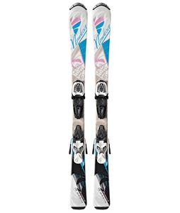 Nordica Little Belle Skis w/ Fastrak M 4.5 Bindings