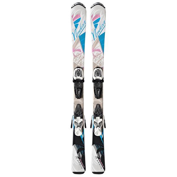 Nordica Little Belle Skis w/ Fastrak M 4.5 Bindings