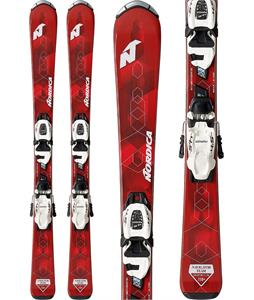 Nordica Navigator Team Skis w/ 7.0 FDT Jr Bindings
