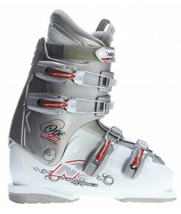 Nordica One 40 Ski Boots Silver/White
