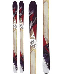 Nordica Wild Belle Skis Black