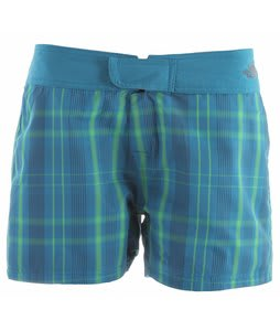 The North Face Reversible Trunk Shorts Baja Blue Plaid