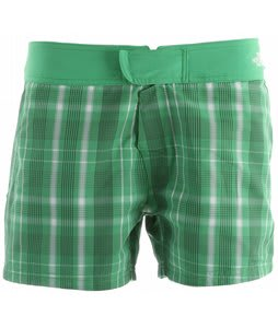 The North Face Reversible Trunk Shorts Mojito Green Plaid