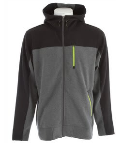 The North Face Salz Full Zip Hoodie Charcoal Grey Heather