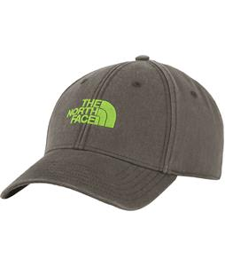 The North Face 68 Classic Cap Black Ink Green/Safety Green