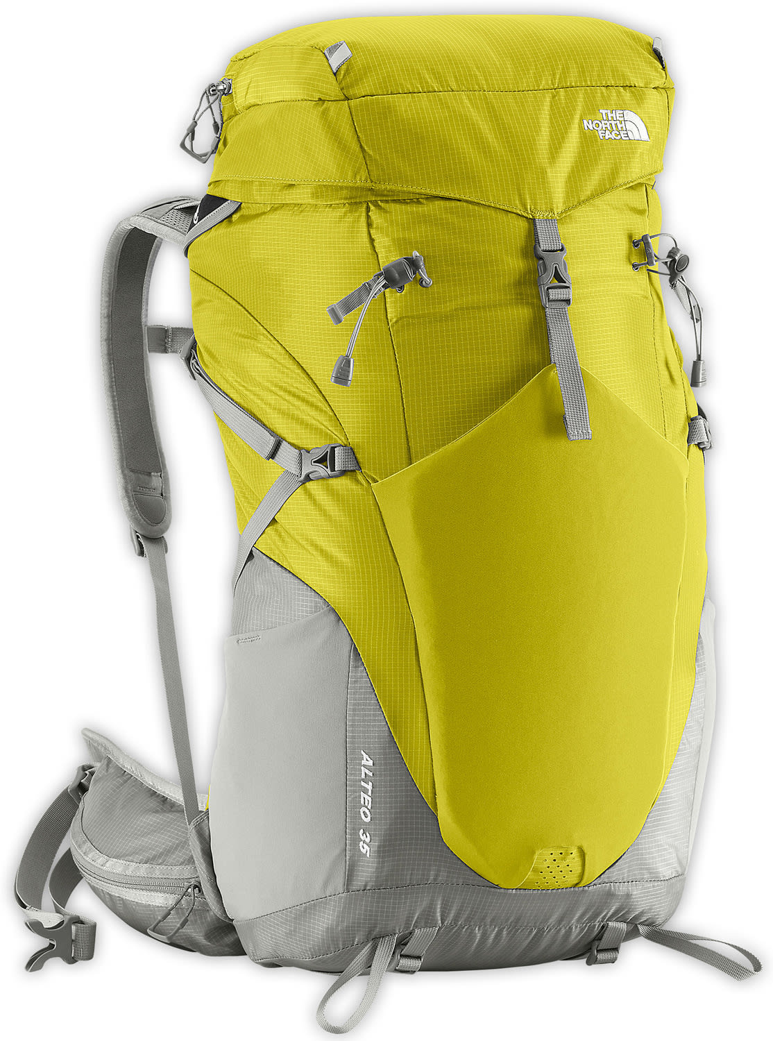 The North Face Alteo 35 Backpack Citronelle Green/Q-Silver Grey 35L (S/M)