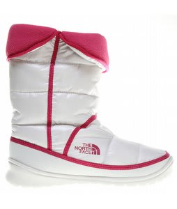 The North Face Amore Boots Shiny Moonlight Ivory/Pop Pink