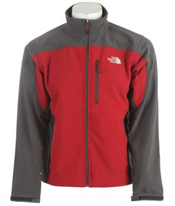 The North Face Apex Bionic Jacket Biking Red/Asphalt Grey