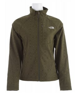 The North Face Apex Bionic Jacket Fig Green Geo Print
