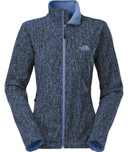 The North Face Apex Bionic Softshell Vintage Blue Slate Print