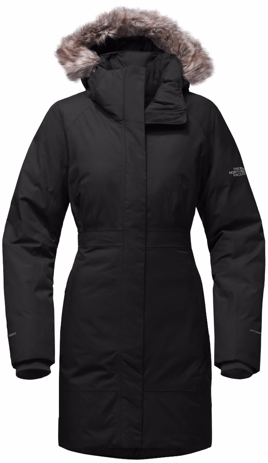North face womens parka jackets