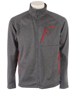 The North Face Canyonlands Full Zip Fleece Vanadis Grey Heather