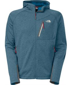 The North Face Canyonlands Full Zip Hoodie Fleece Heron Blue Heather