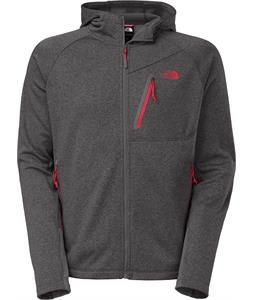 The North Face Canyonlands Full Zip Hoodie Asphalt Grey Heather