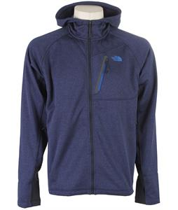 The North Face Canyonlands Full Zip Hoodie Outer Space Blue Heather