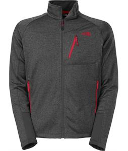 The North Face Canyonlands Full Zip Jacket Fleece Asphalt Grey Heather