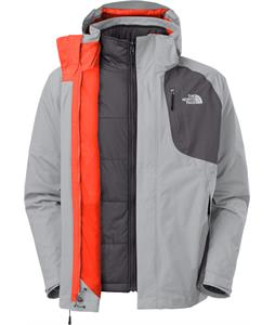 The North Face Carto Triclimate Ski Jacket High Rise Grey/Vanadis Grey