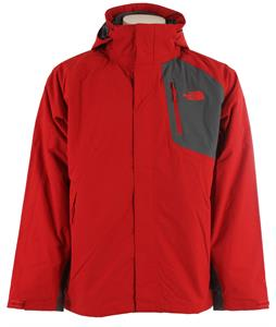 The North Face Carto Triclimate Ski Jacket Rage Red/Vanadis Grey