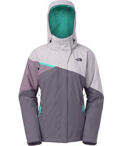 The North Face Cinnibar Triclimate Jacket Greystone Blue/Dapple Grey/Purple Sage