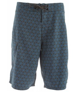 The North Face Class V Stretch Printed Boardshorts Graphite Grey/Athens Blue